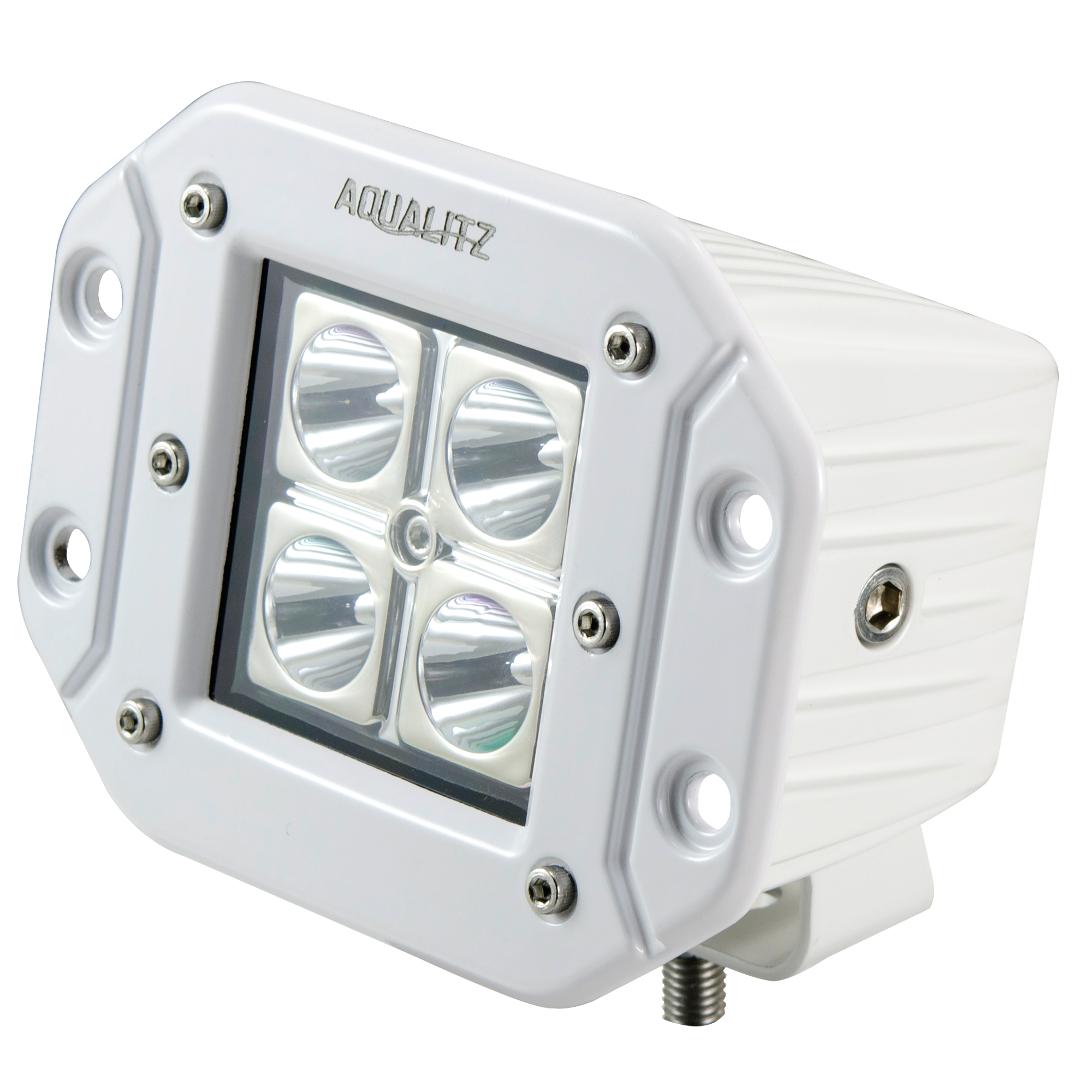 QuadFire LED Flush Mount Marine Lighting